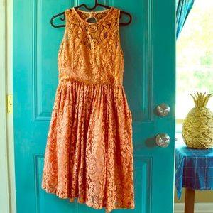 Peach Freeway Dress